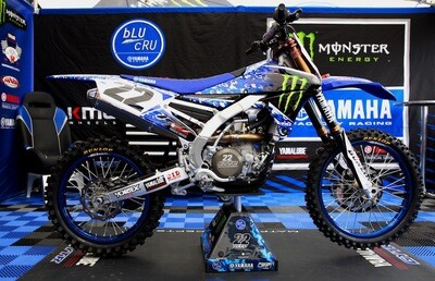 Chad Reed Military Appreciation Replica Decal Kit