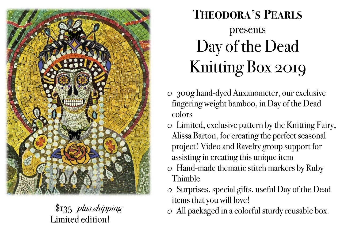 Day of the Dead Box 2019  - Pick up