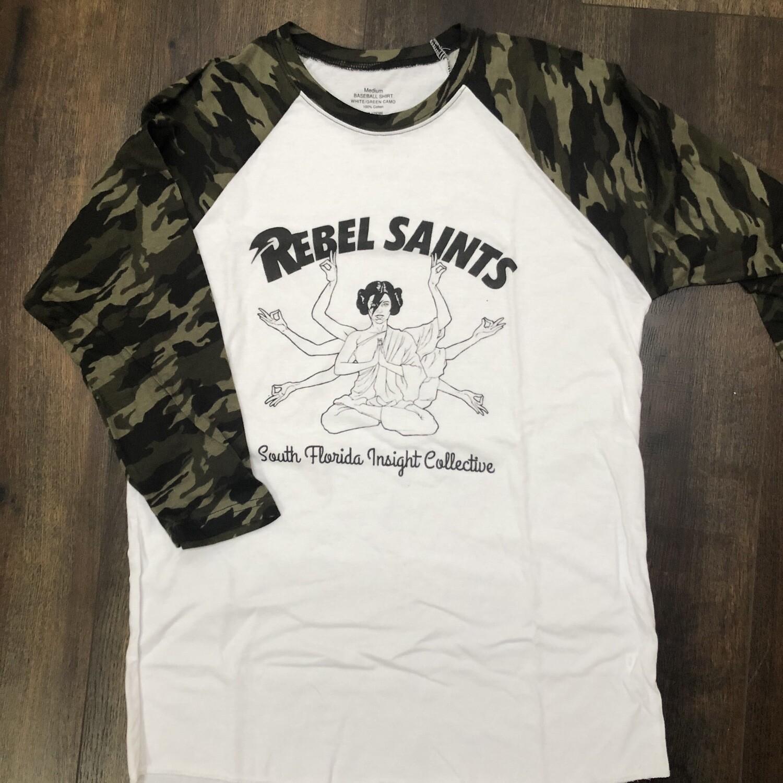 Rebel Saints Baseball Tee