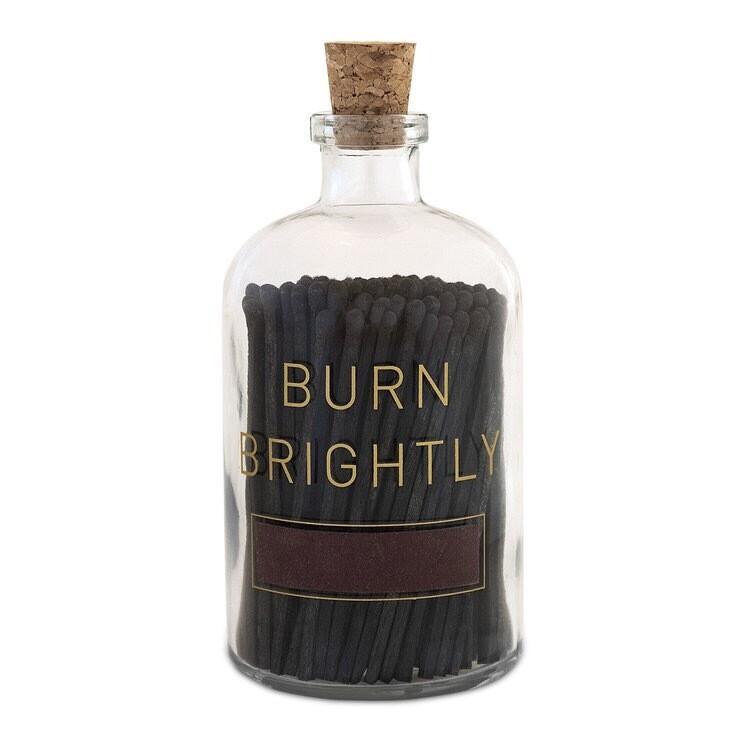 Burn Brightly Match Bottle