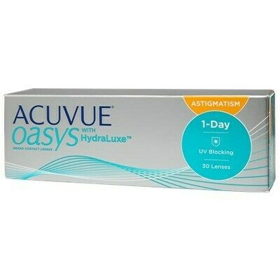 ACUVUE OASYS 1-Day for Astigmatism 30 Pack (30 Lenses/Box)