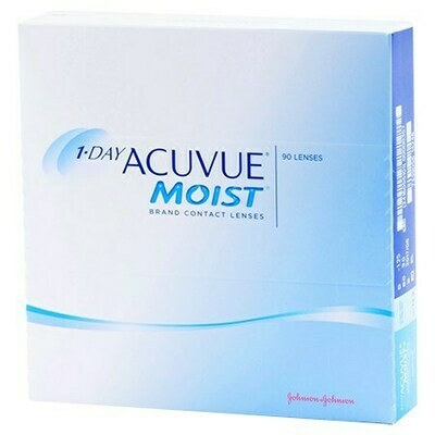 1-DAY ACUVUE MOIST 90 Pack (90 Lenses/Box)