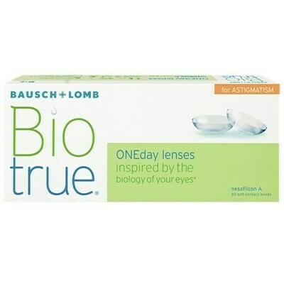 Biotrue ONEday for Astigmatism (30 pack) (30 Lenses/Box)