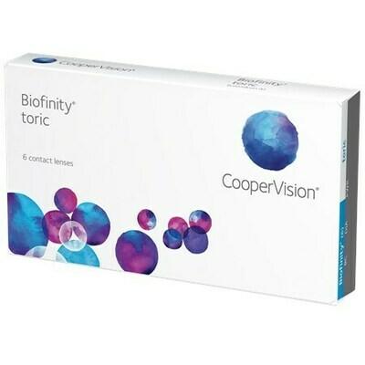 Biofinity Toric (6 Lenses/Box)