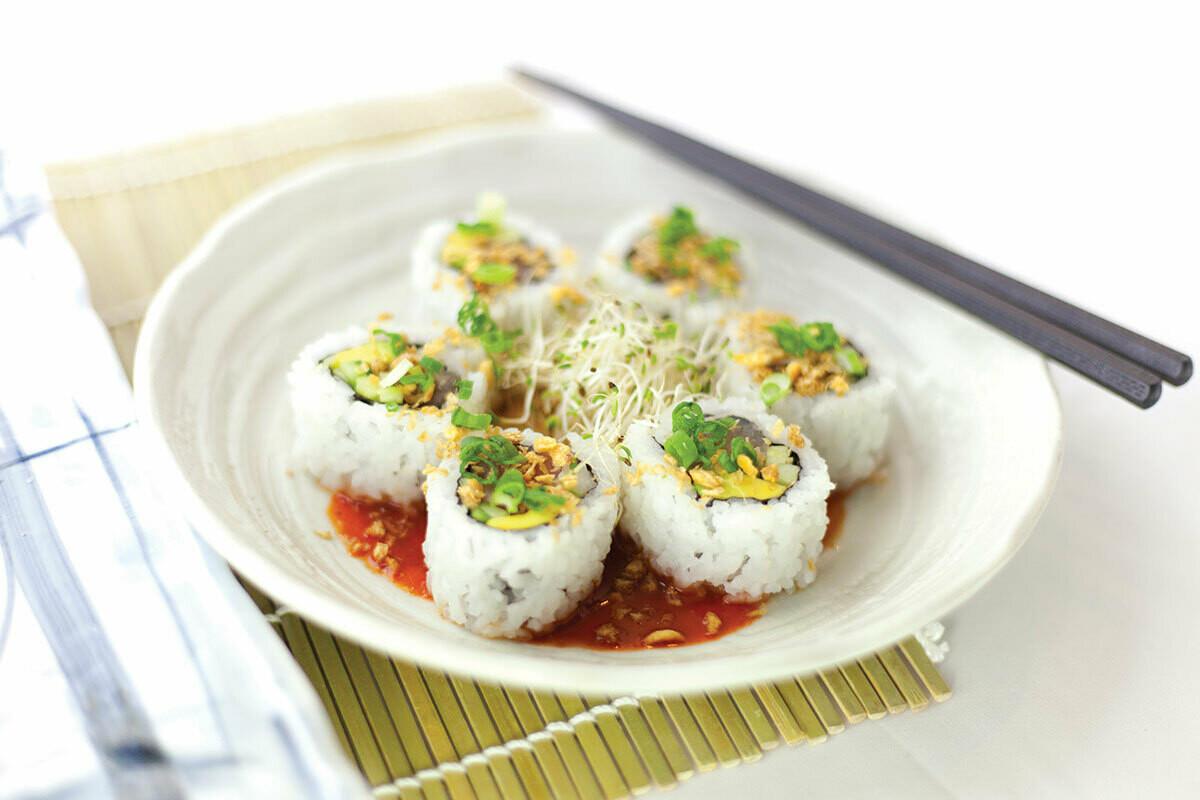 Tuna Flower Roll