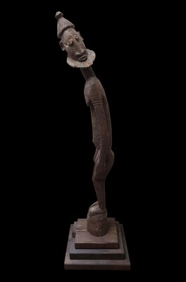 Dogon Leaner Figure/ West Africa