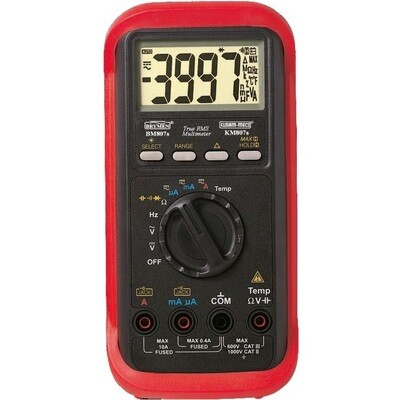 Kusam Meco KM807S - Autoranging TRUE RMS Digital Multimeter