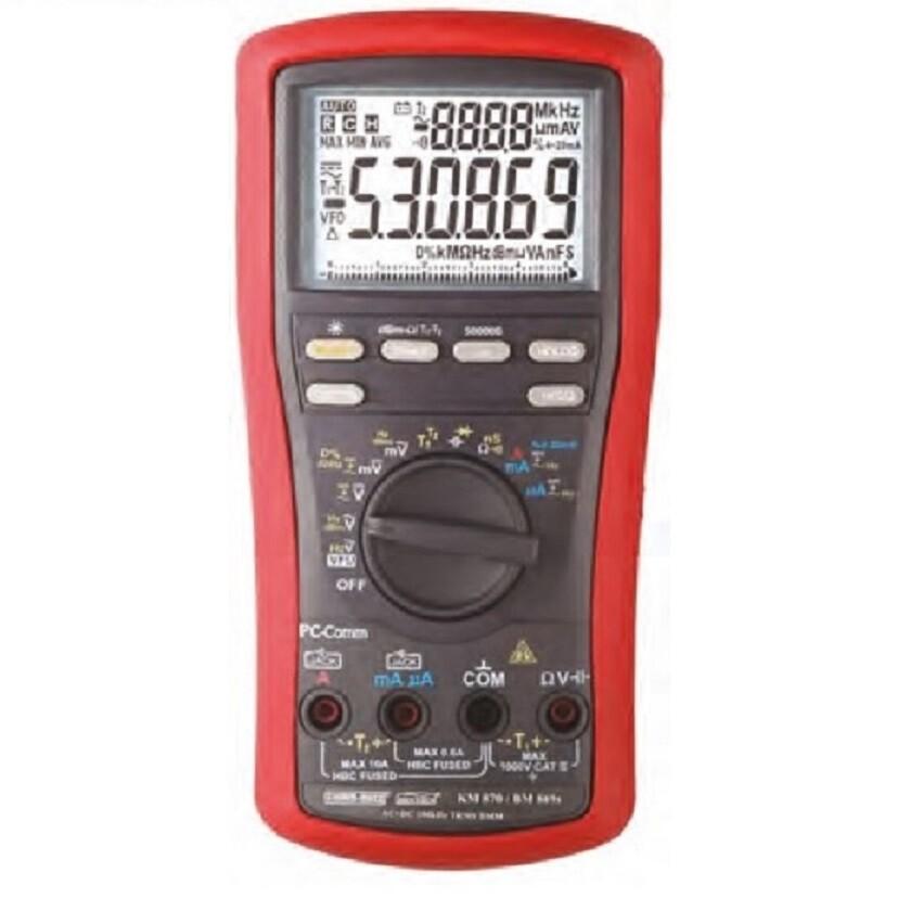 Kusam Meco KM870 Digital Multimeter with 1500VDC for Solar application