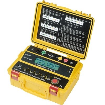 Kusam Meco KM-4234ER - Digital 4 Wire Earth Resistance Tester