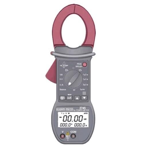 Kusam Meco KM-2745, Power Clamp Meter with Harmonics
