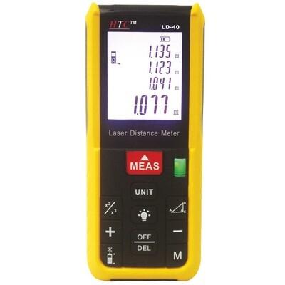 HTC LD40 Laser Distance Meter 40 Meters