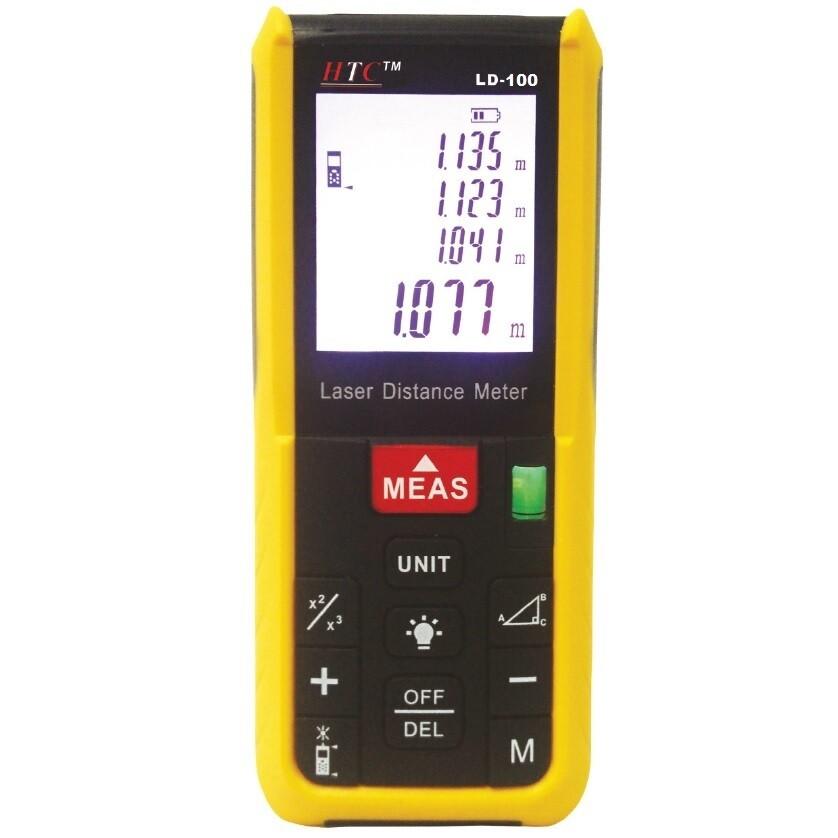 HTC LD100 Laser Distance Meter 100 Meters