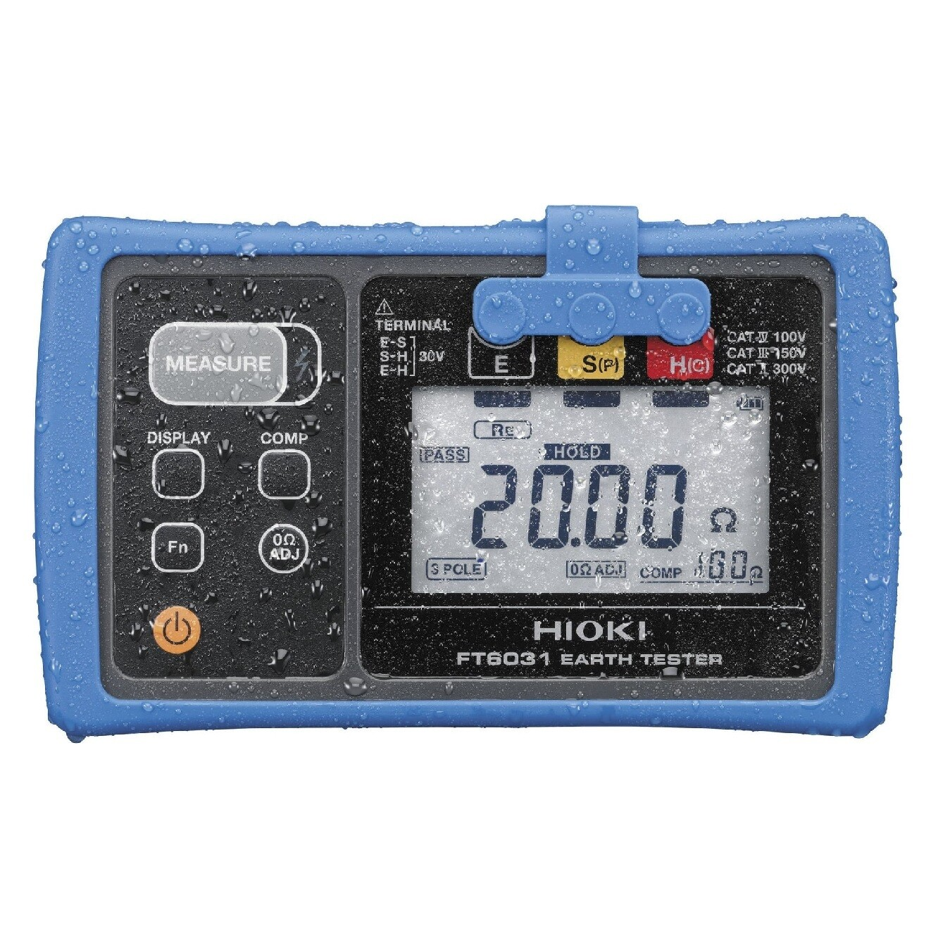 Hioki FT6031-03 Digital Earth Resistance Tester