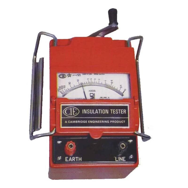 CIE 444 Insulation Tester 500 Volt / 0-100 MOhms