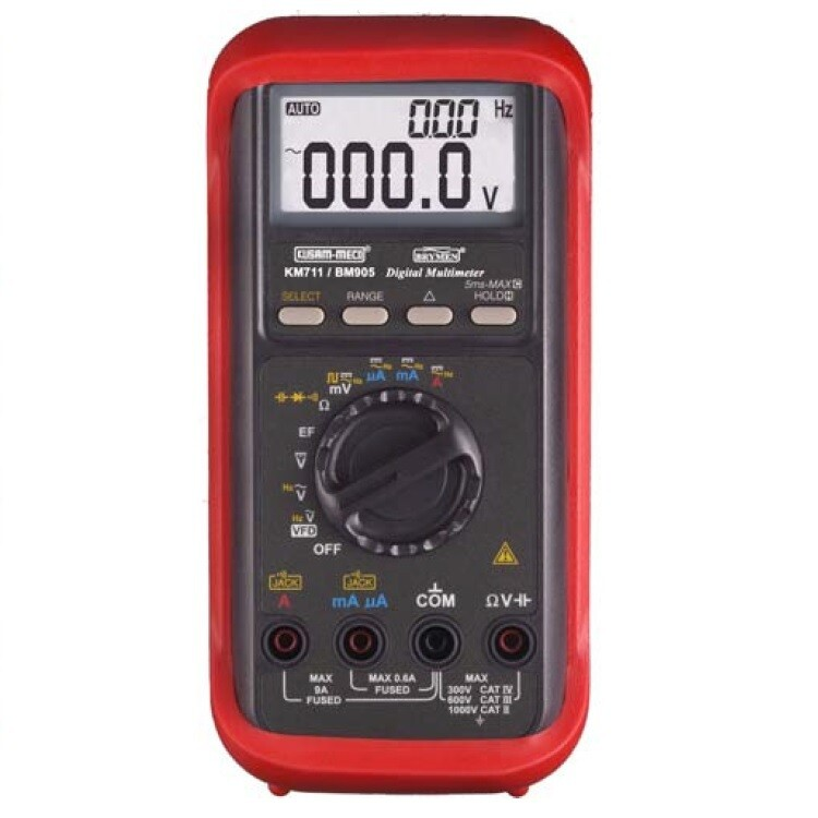 Kusam Meco KM-711 Digital Multimeter with VFD application