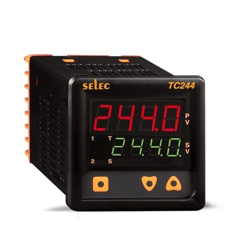 Selec TC-244-AX Digital Temperature Controller Dual Set Point