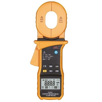 HTC CE-8201 Clamp Earth Tester with Leakage Current