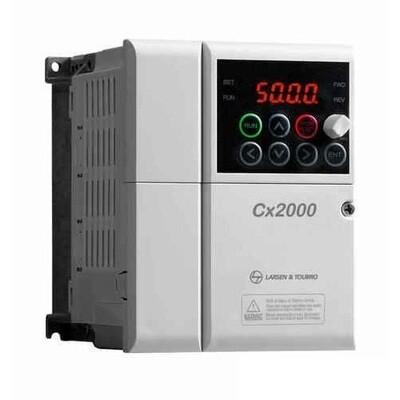 L&T Cx2000 VVVF 3 phase Drive 0.40 kW / 0.5HP - LTVF-C40002BAA VFD