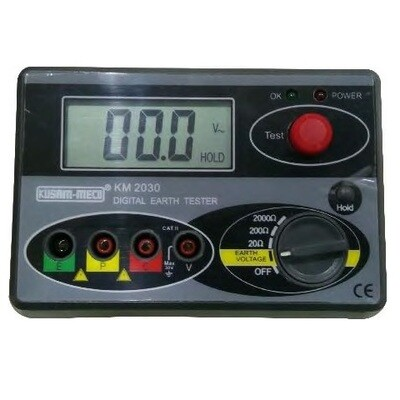 Kusam Meco KM 2030 Digital Earth Resistance Tester
