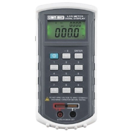 Kusam Meco LCR-459 Dual Display Auto Ranging LCR Meter