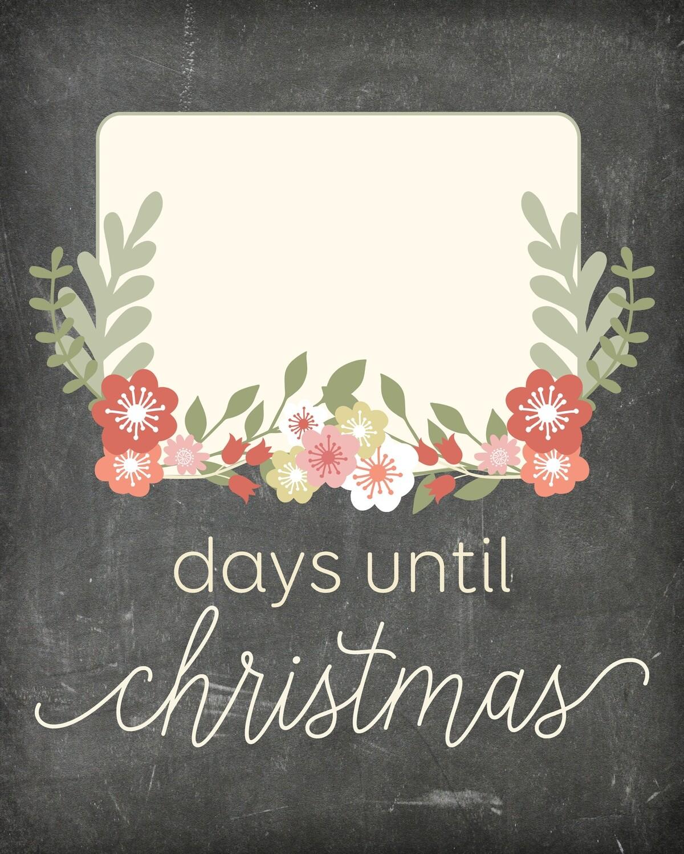 Flower Countdown