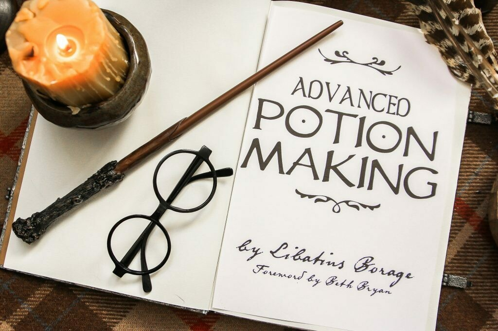 Harry Potter Potion Recipes with Essential Oils (Printable Labels)