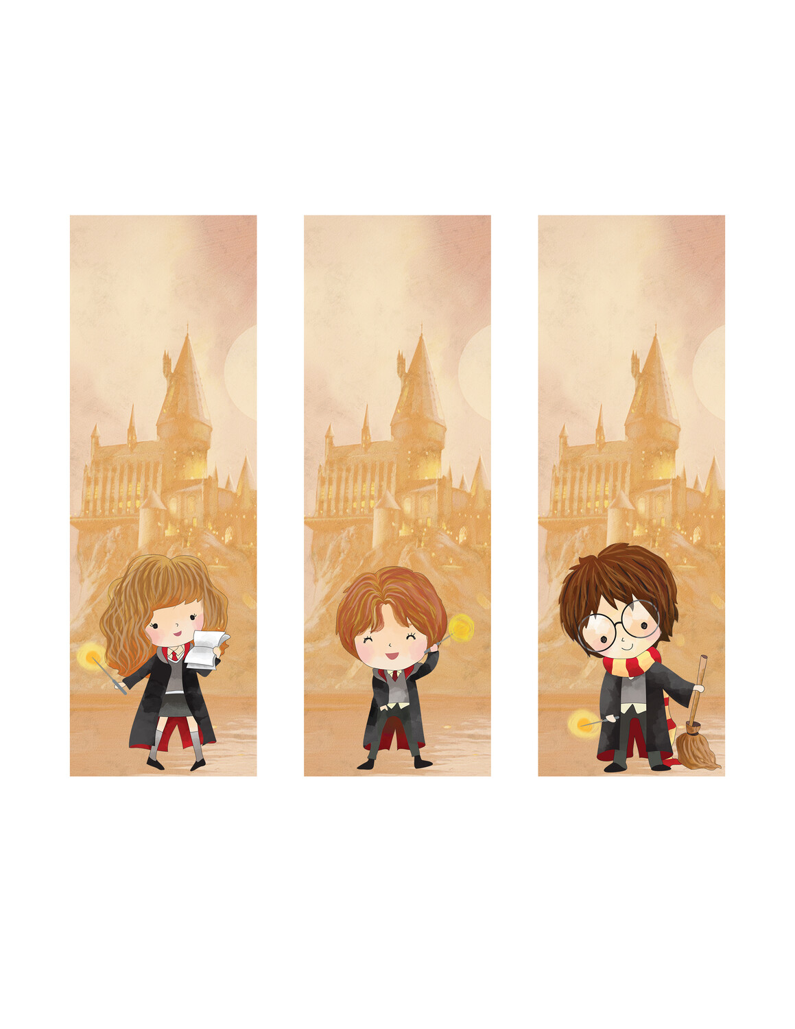 Cute Harry Potter Character Bookmarks- Free Printables, perfect for Summer Reading!