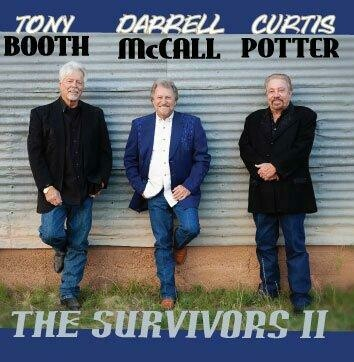 """Tony Booth Darrell McCall Curtis Potter """"The Survivors II"""" CD 00004"""