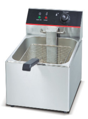 Premium 6 Ltr Counter Top Electric Deep Fat Fryer Single Tank