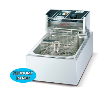 Economic 3 Ltr Counter Top Electric Deep Fat Fryer 1-Tank