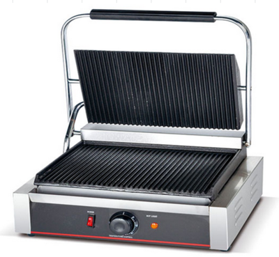 ​Panini Press Griller (Both Side Grooved) - 2.2 kw