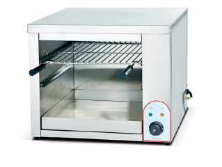 Hanging Electric Square Salamander Grill Machine