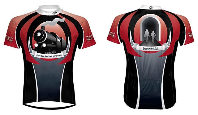 Red Rail Trail bike jersey