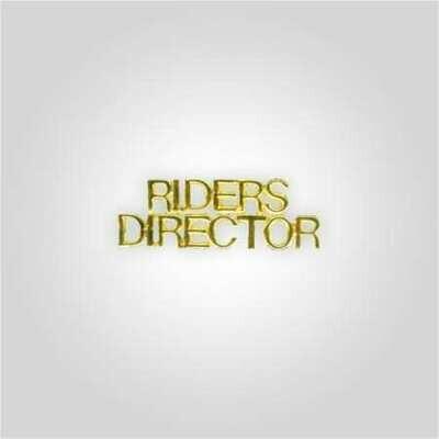 Cap Bar Pin - Riders Director