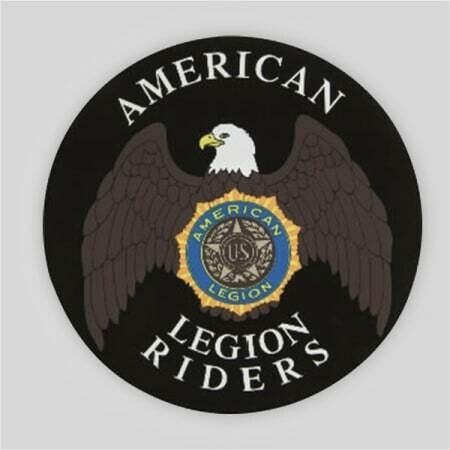 """Legion Riders Removable Decal - 12"""""""