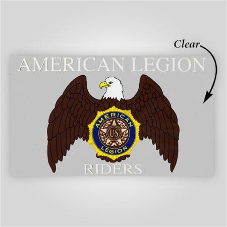 Legion Riders Inside Windshield Decal