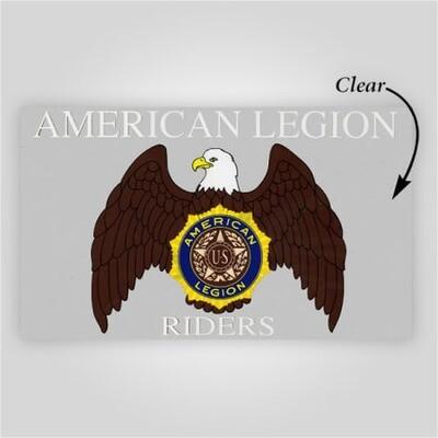 Legion Riders Inside Windshield Decal