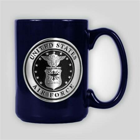 Air Force Emblem 15 oz Ceramic Mug