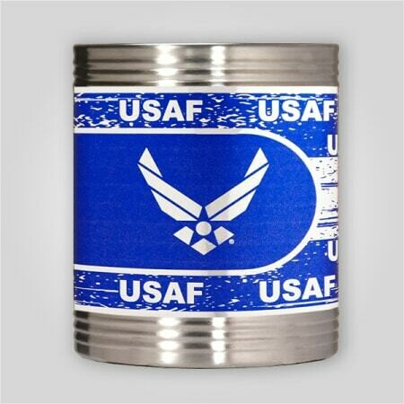 Air Force Steel Can Holder