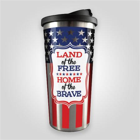 Americana Stainless Travel Mug