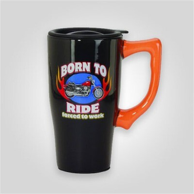 Born to Ride Travel Mug