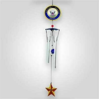 Navy Wind Chime