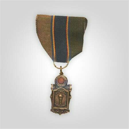 ROTC Scholastic Excellence Medal with Ribar Silver