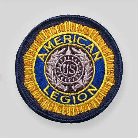 American Legion Embroidered Emblem Patch 2.5""