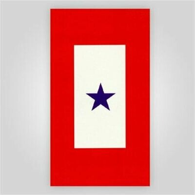 Blue Star Decal - 3