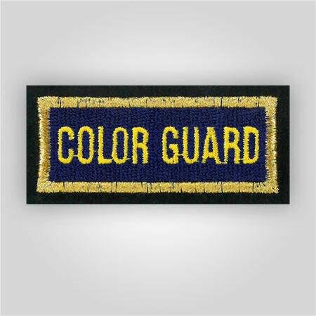 Color Guard Insignia Patch
