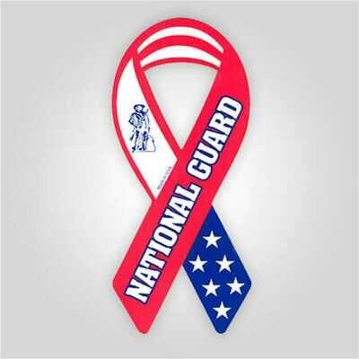 National Guard Ribbon Magnet