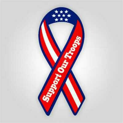 Support Our Troops Auto Magnet