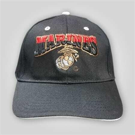 """Marines"" Embroidered Cap"