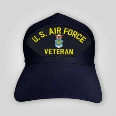 US Air Force Veteran Emblem Cap